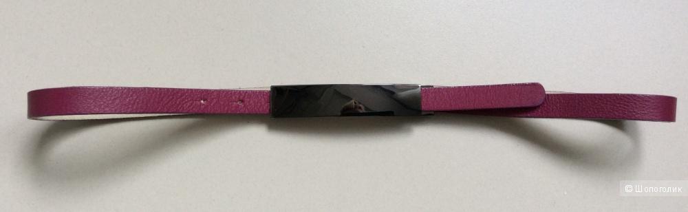 Ремень кожаный M reason на объем 83-95 см (можно легко уменьшить)