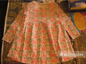 Платье Asda Geogre 1,5-2года 86-92см