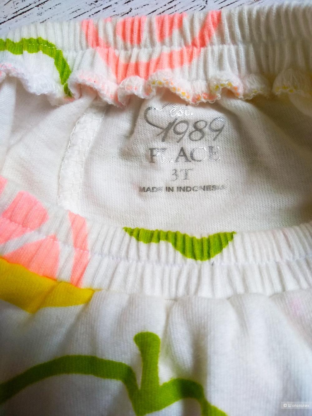 Комплект: майка и юбка The Childrens place, 2-3 года 86-92-98-104 см