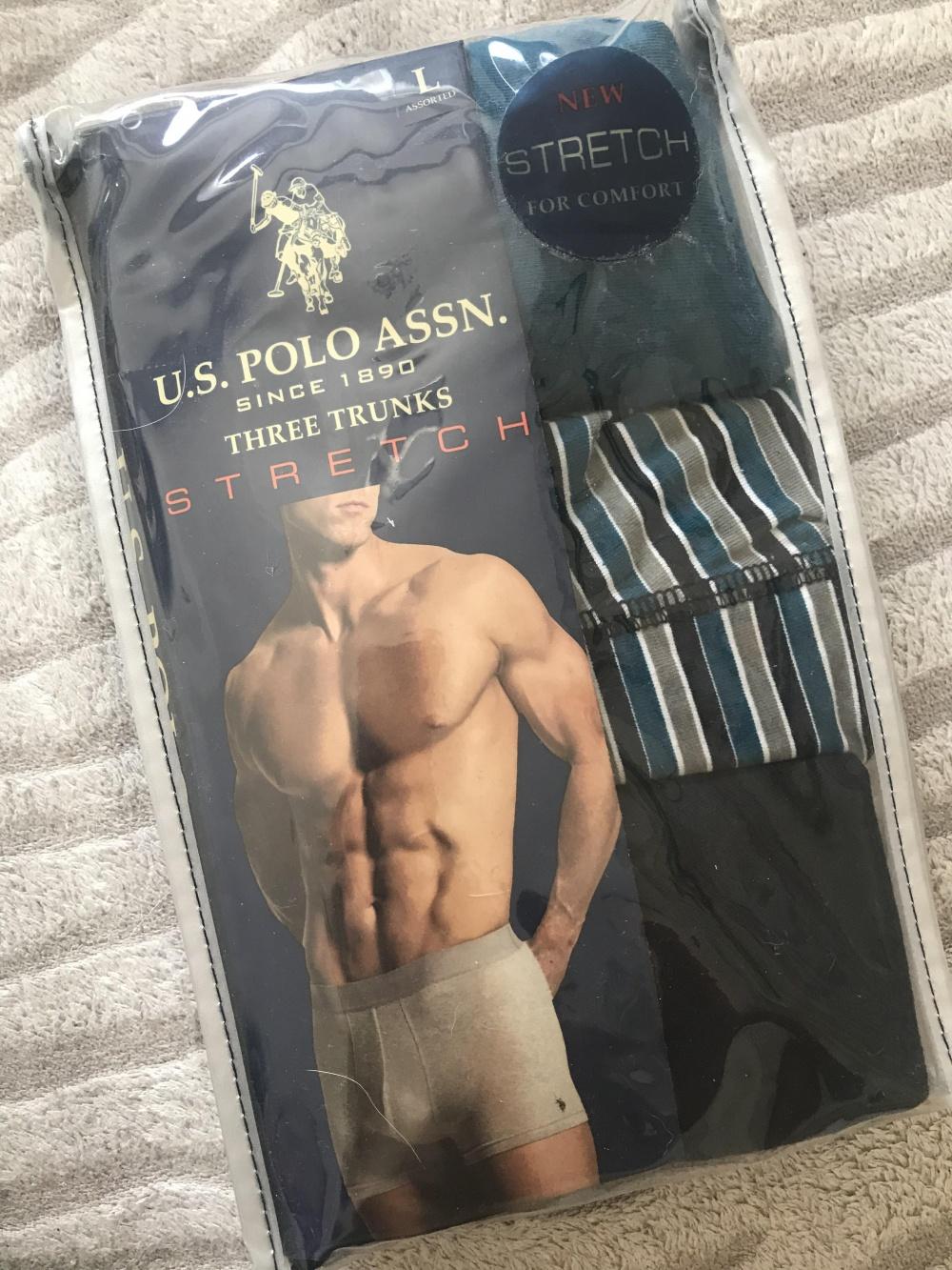 Боксеры мужские us polo assn, размер L