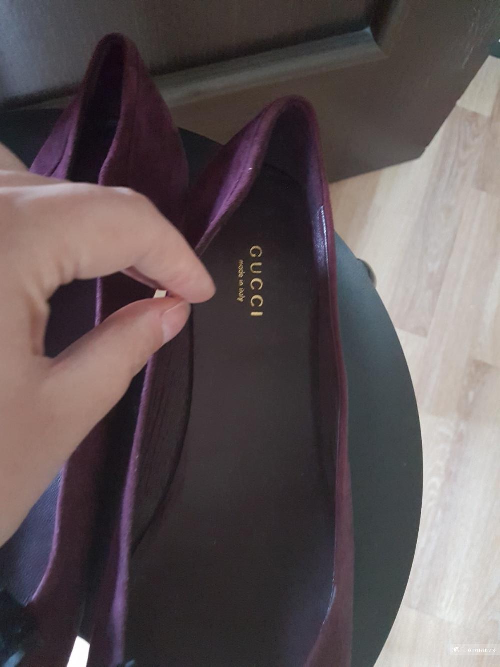 Балетки Gucci 39,5 размер