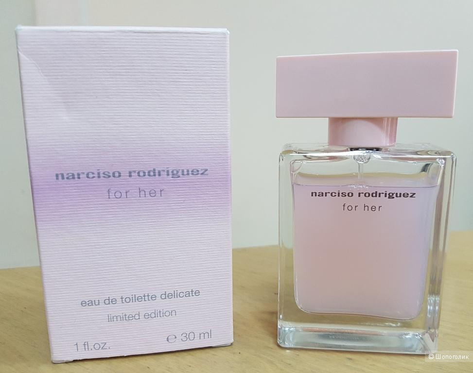 Парфюм Narciso Rodriguez For Her Eau de Perfume Delicate Limited Edition - ТВ 27/30 мл
