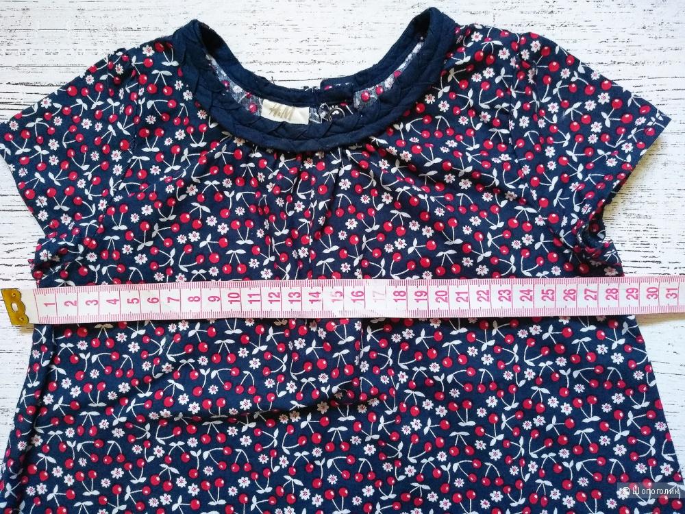 Платье H&M, на рост 74-80-86 см
