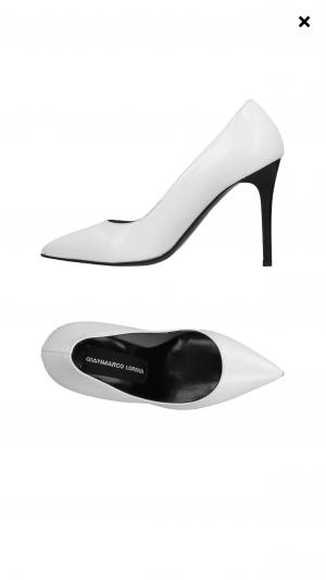 Gianmarco Lorenzi, Туфли, белые, 39 размер (маркировка 40)