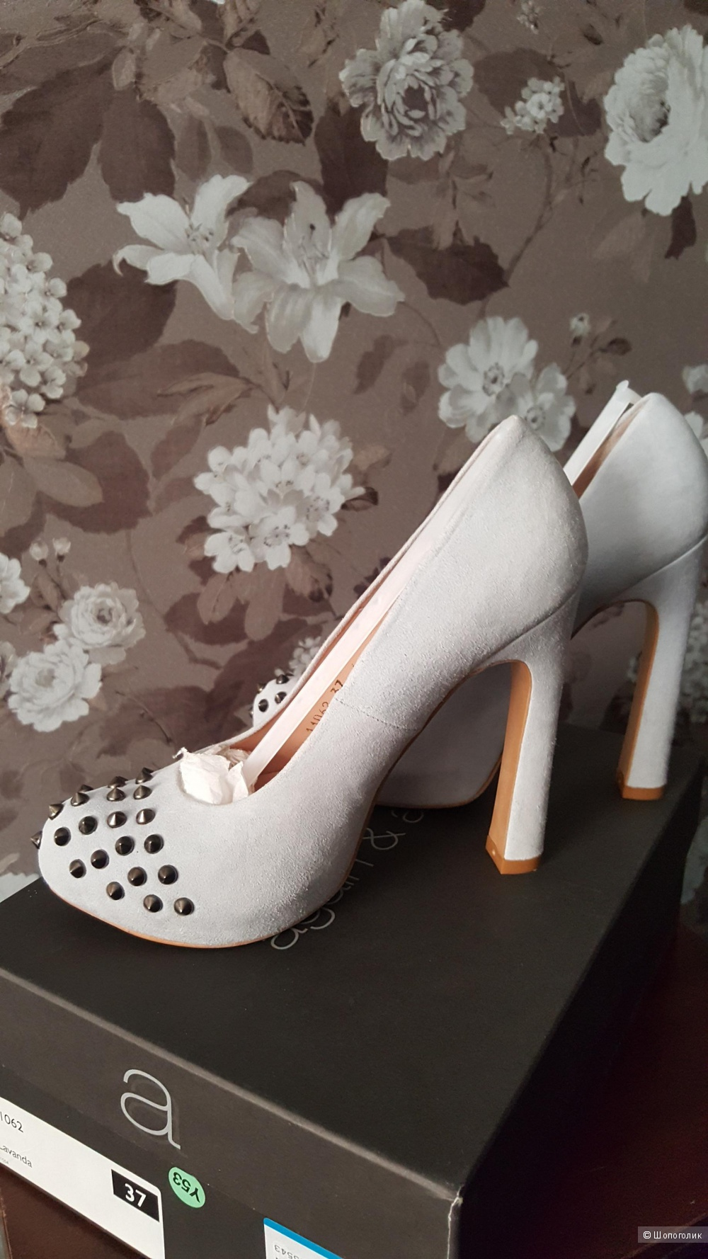 Туфли на платфоме AGAIN&AGAIN, 37 размер