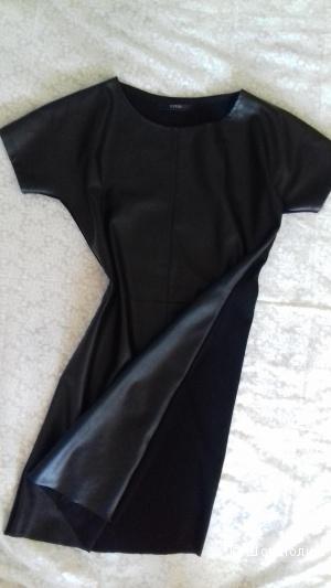 Платье из искусственной кожи, Gucci, р. L, реплика.