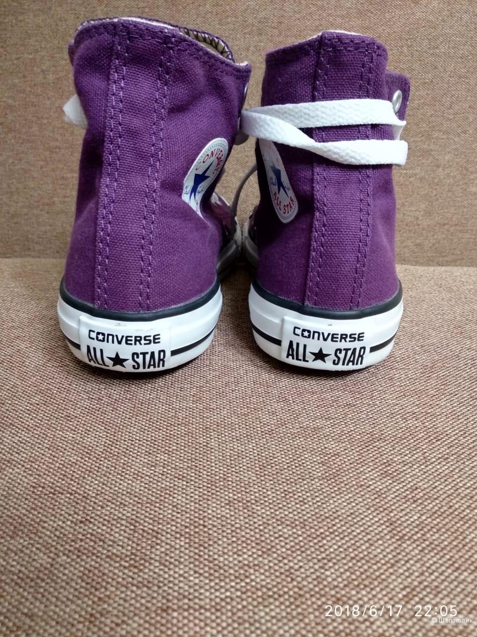 Детские кеды Converse 33.5 размера