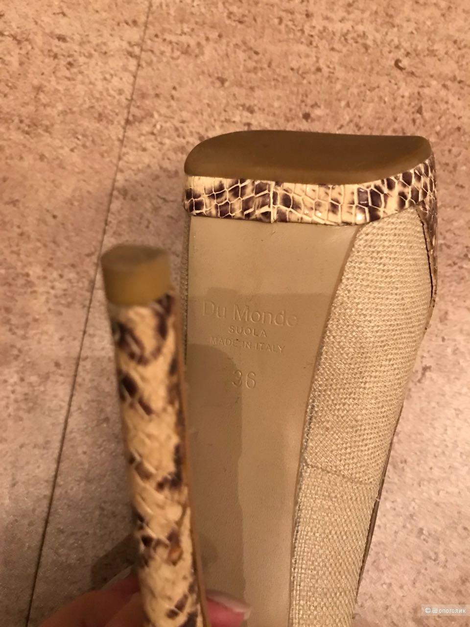 Туфли Du Monde ,размер 37