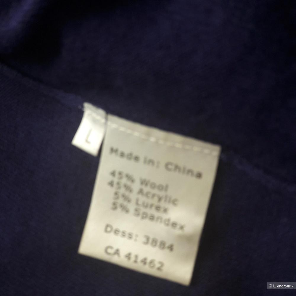 Шерстяная кофта размер L