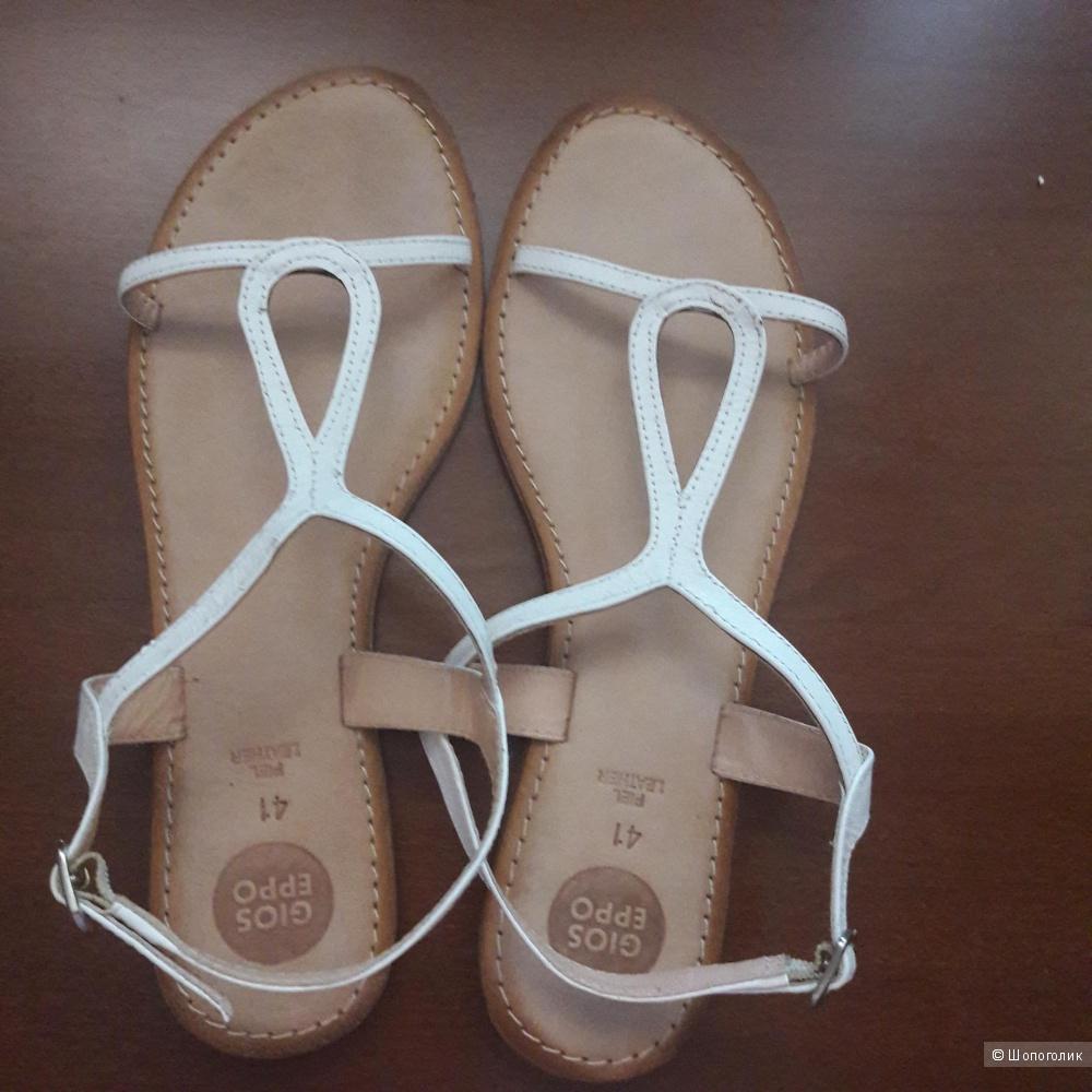 Кожаные сандалии Gioseppo 40 размера