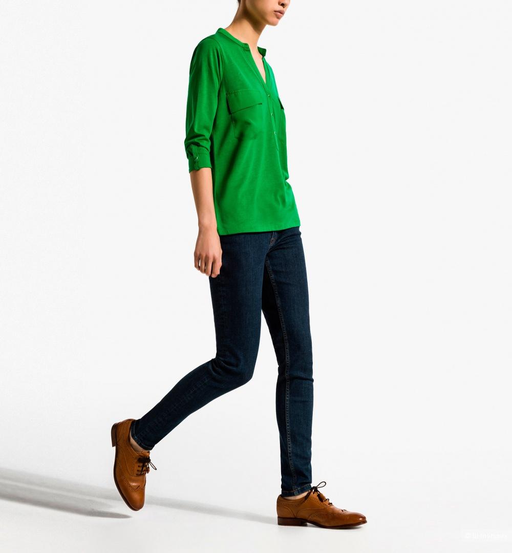 Massimo dutti блузка поло размер S