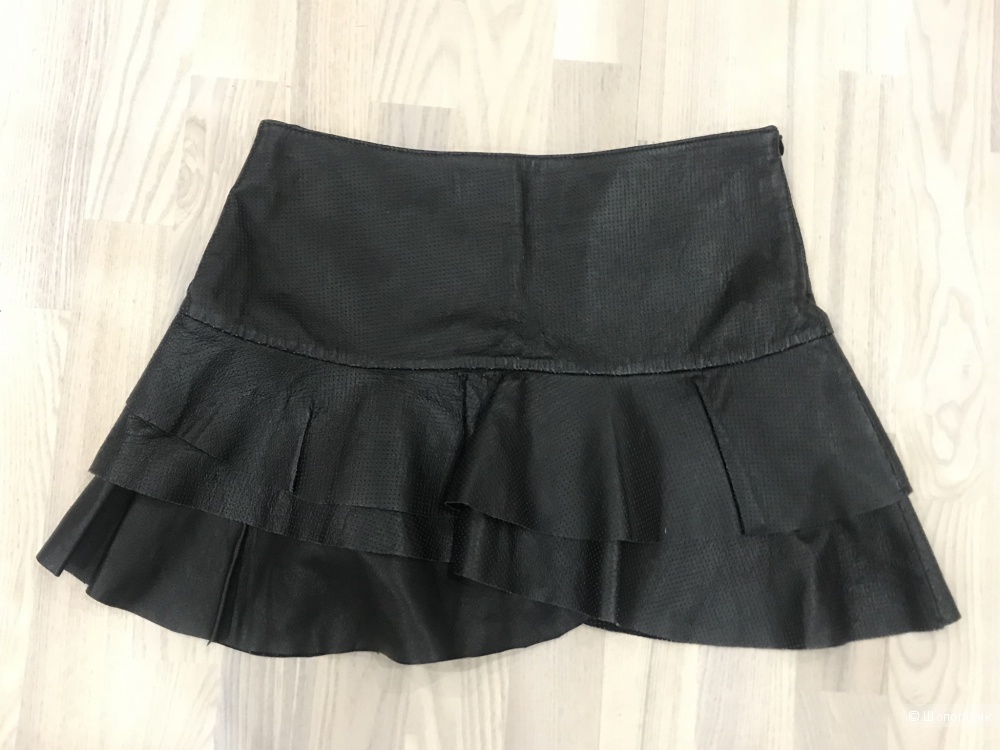 Кожаная юбка Bershka, размер 42.