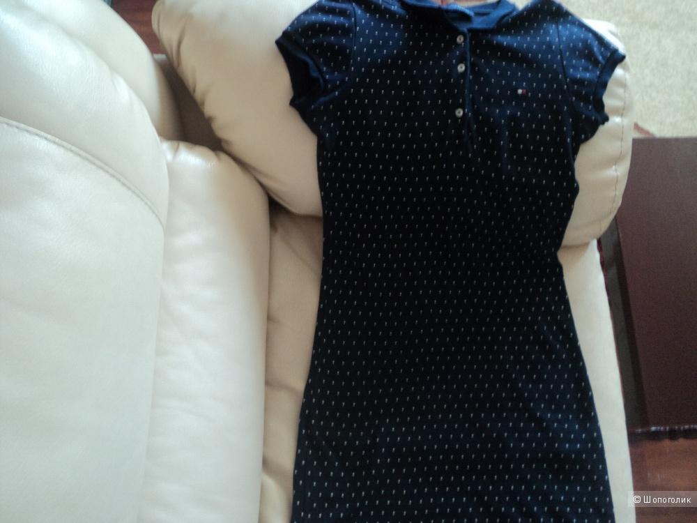 Платье поло TOMMY HILFIGER, 46 российский размер.