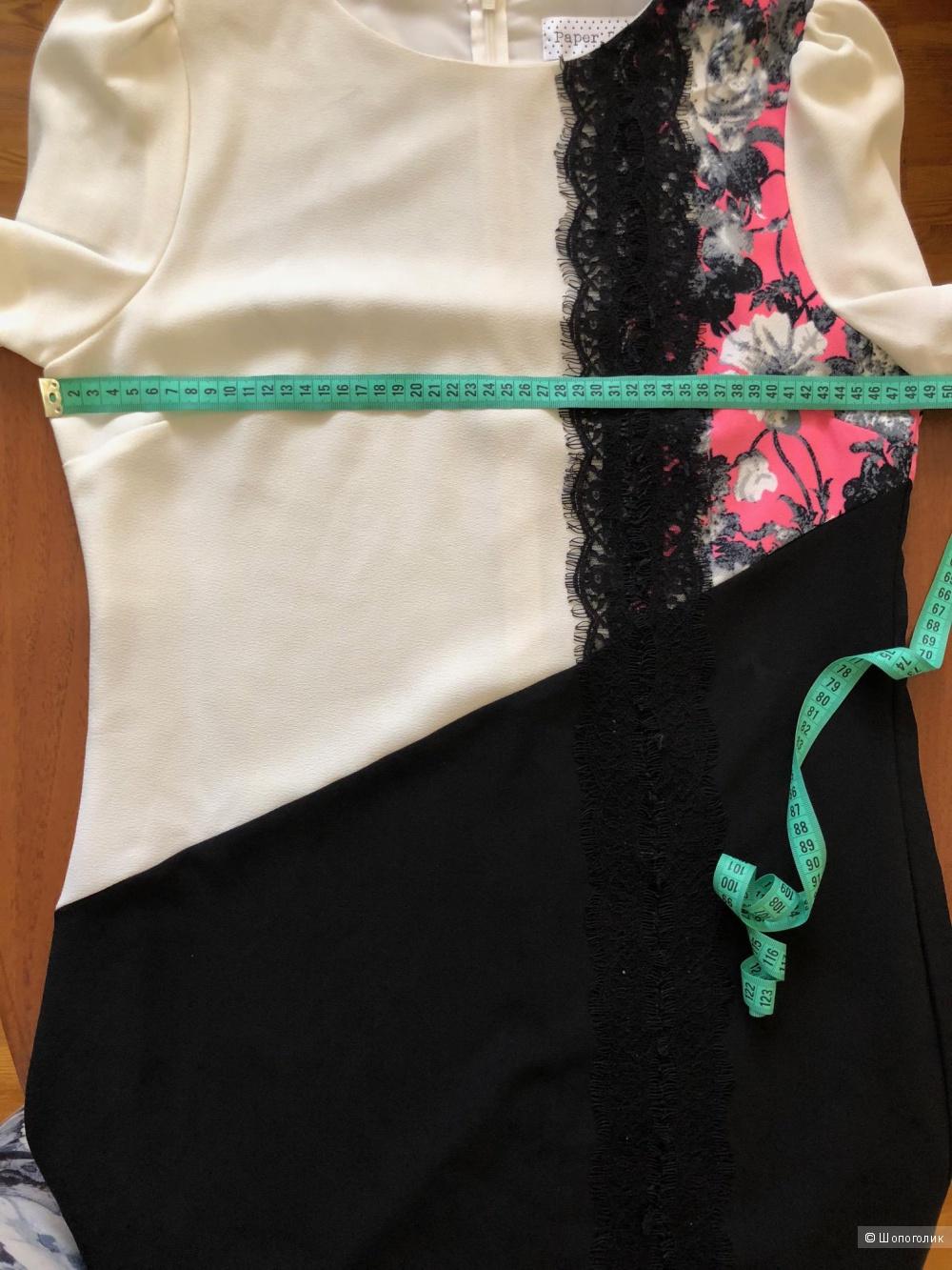 Платье Paper Dolls размер UK 12 / рос. 46