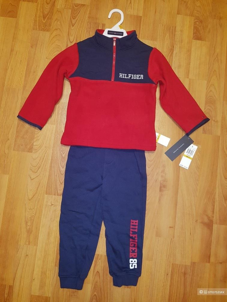 Флисовый костюм Tommy Hilfiger, на 3 года