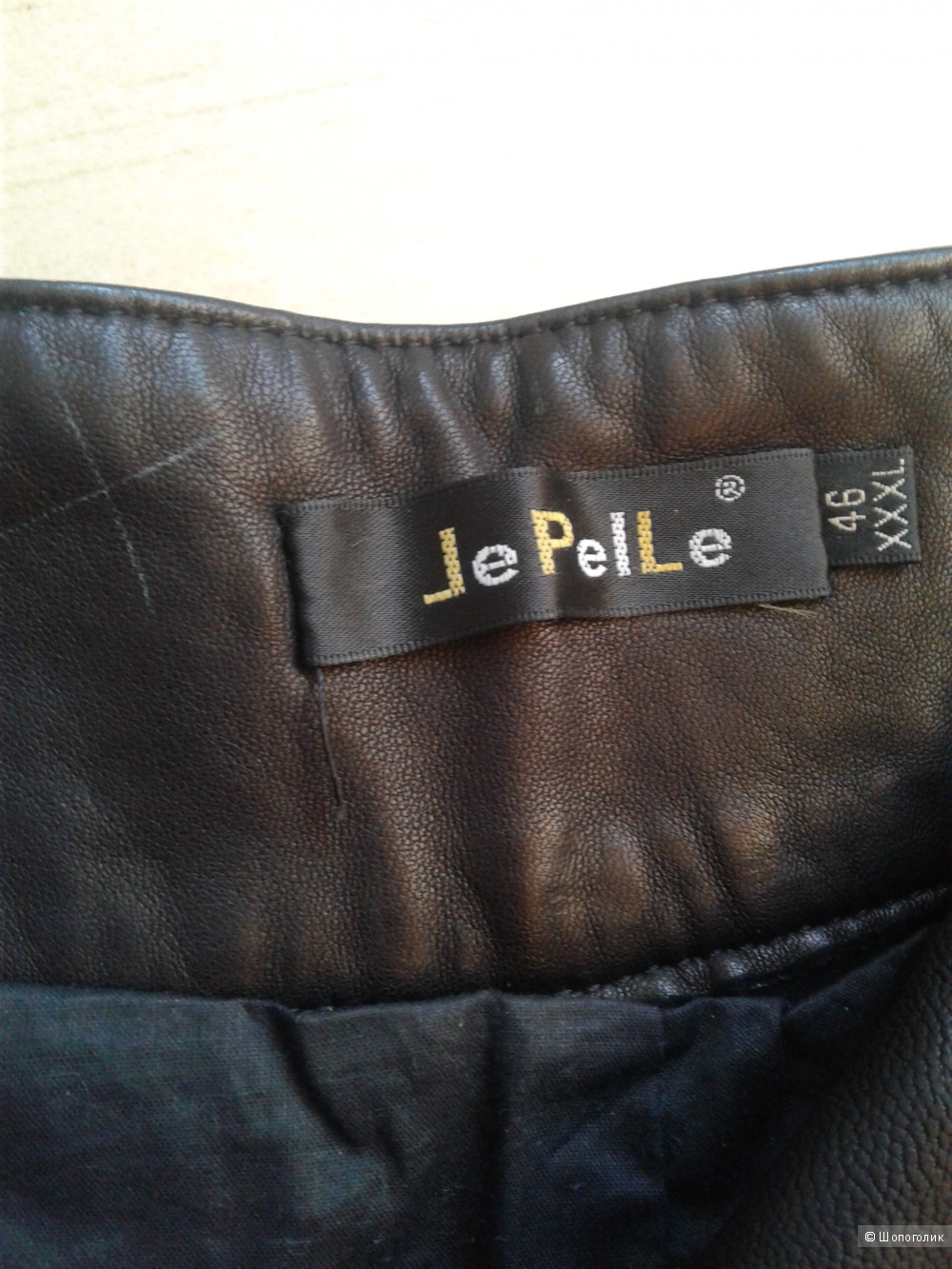 Кожаные бриджи Le Pelle размер 48-50 реплика