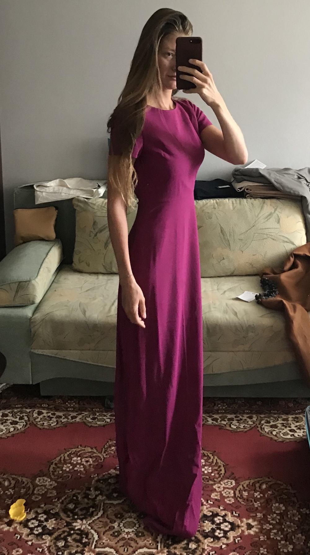 Платье макси Matthew Williamson 8UK (42 RUS)