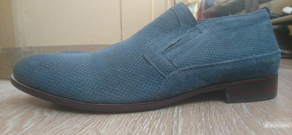 Мужские утепленные туфли Domanchi 41-42 размер