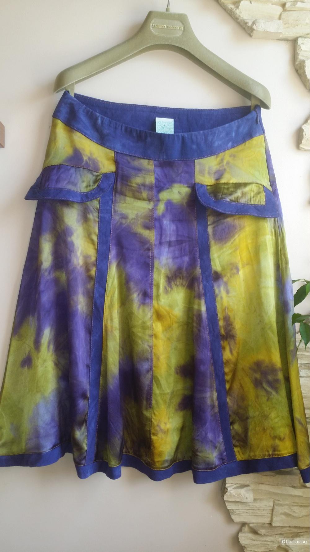 Шелковая юбка Legatte jeans (Save the Queen), 44