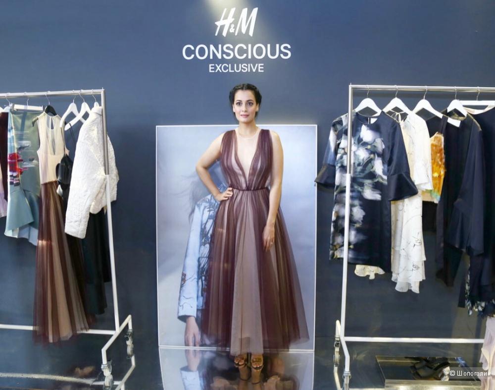 Платье H&M Conscious exclusive 44