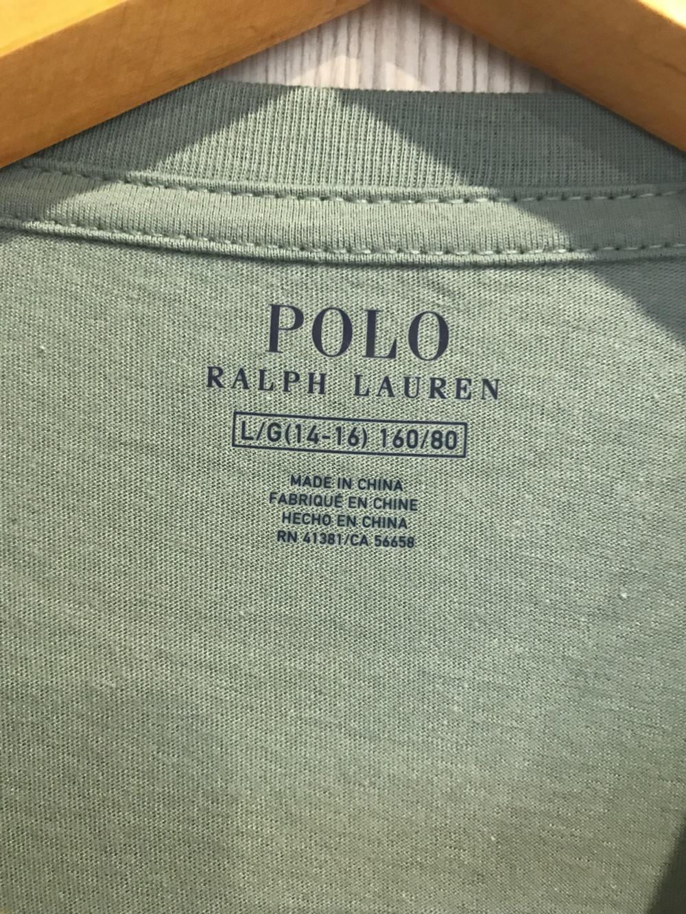 Подростковый лонгслив Ralph Lauren, размер L