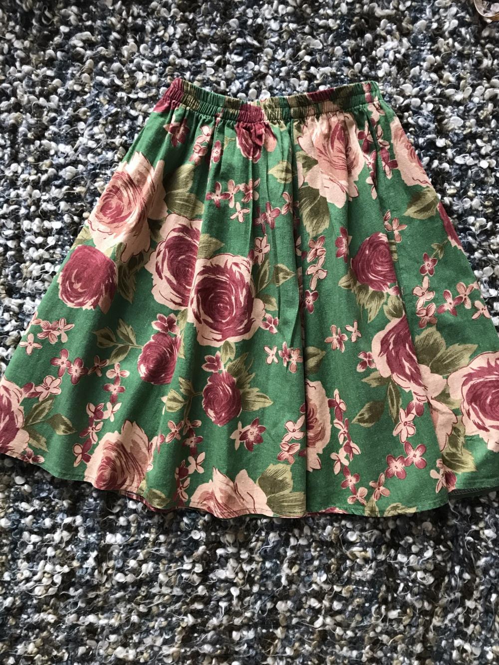 Льняная юбка размер 42-44