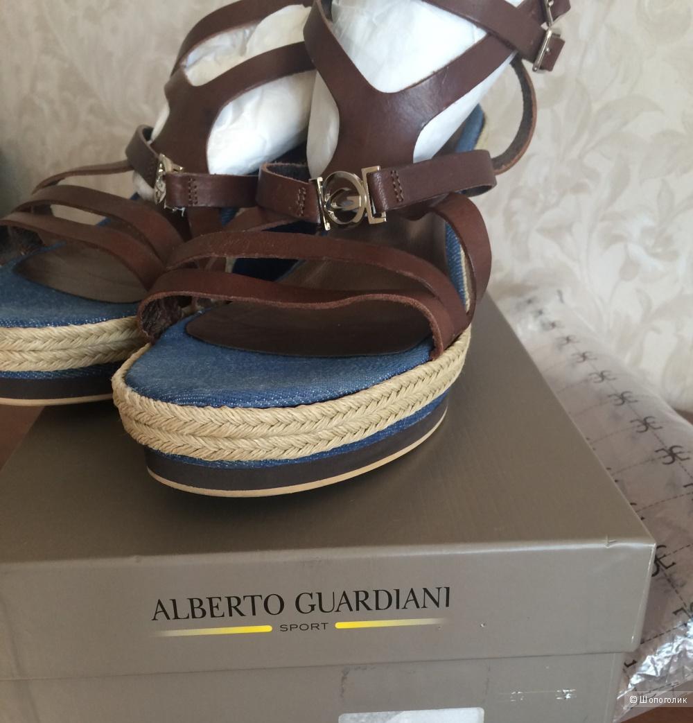 Босоножки 40 размер Alberto guardiani