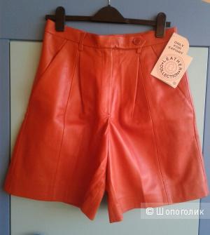 Кожаные шорты no name размер нем. 42, рос. 48-50