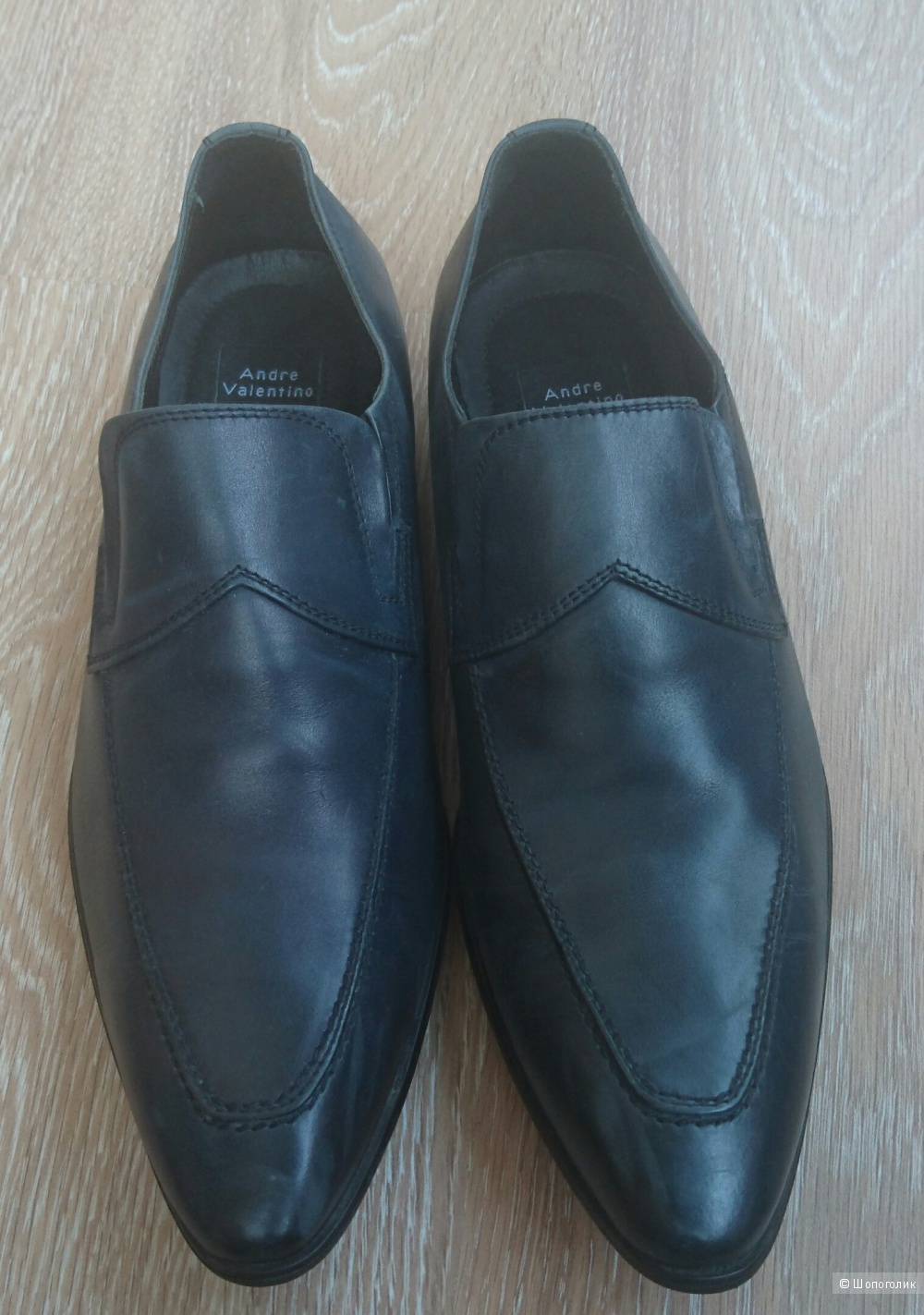 Мужские туфли Andrea Valentino 42 размер