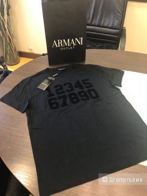 Мужская футболка Emporio Armani, размер S, M, L, XL, XXL