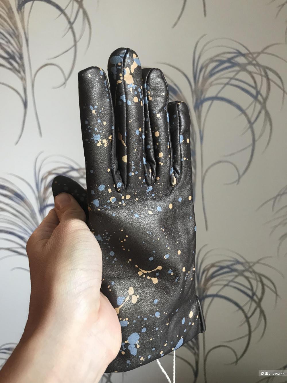 Кожаные перчатки Fingers Venezia размер М