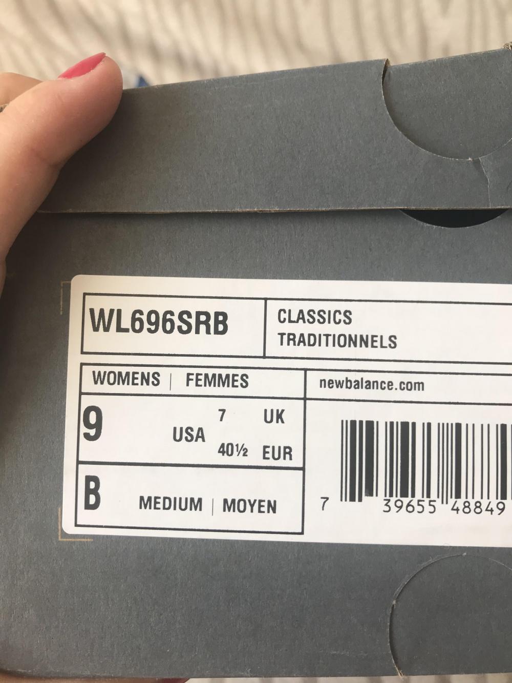 Кроссовки new balance, 696 модель, размер 39