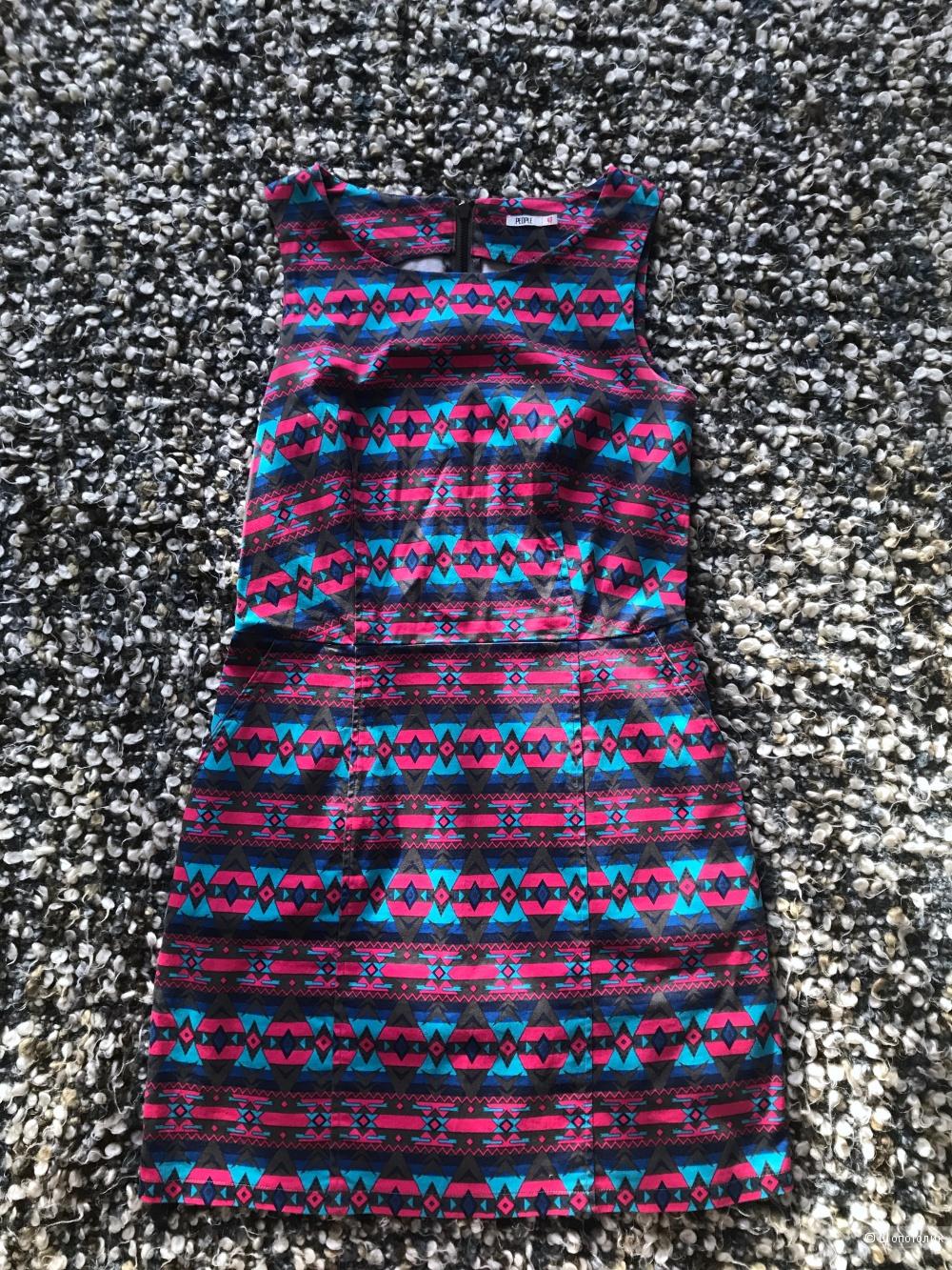 Платье без рукавов 42-44 размера