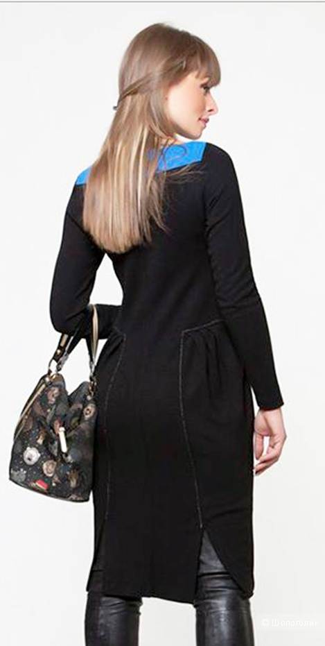 Платье из трикотажа, Magnolica, 40 (RUS 44-46)