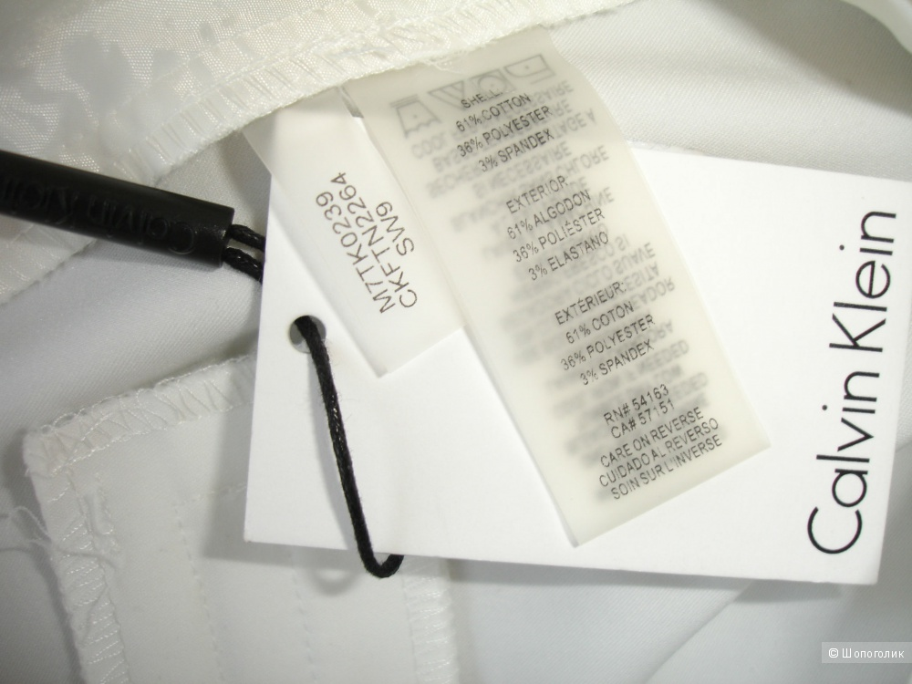 Брюки Calvin Klein, размер US 2 (рос 42)
