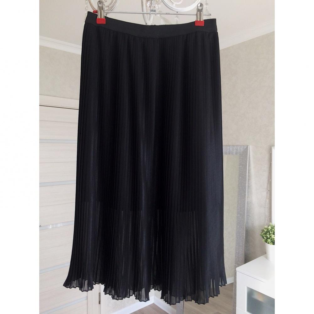 Плиссированная юбка Mango, размер S