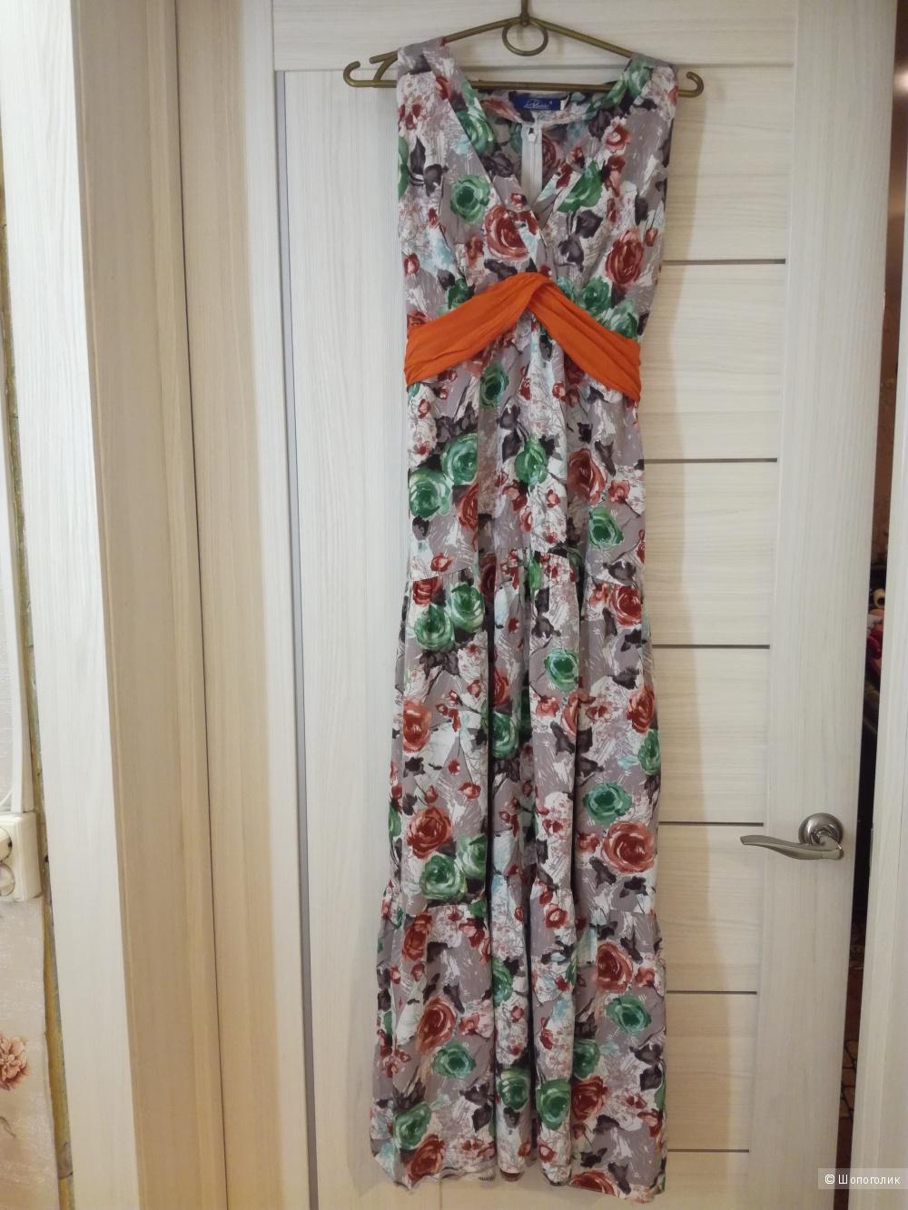 Платье в пол Мерлис на 44 р.