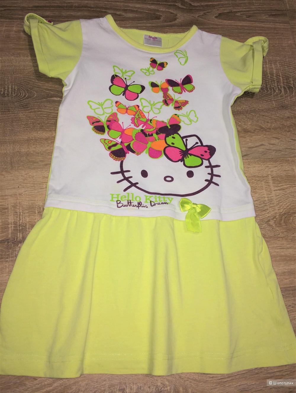 Сет: два платья PlayToday и  Алёна , 3-4 года