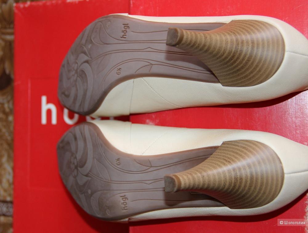 Туфли летние Hogl ,  размер 6,5 на наш 39,5