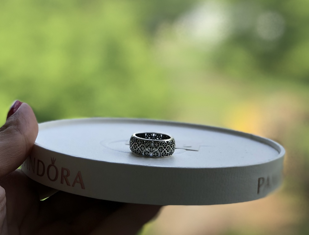 Pandora кольцо 48р
