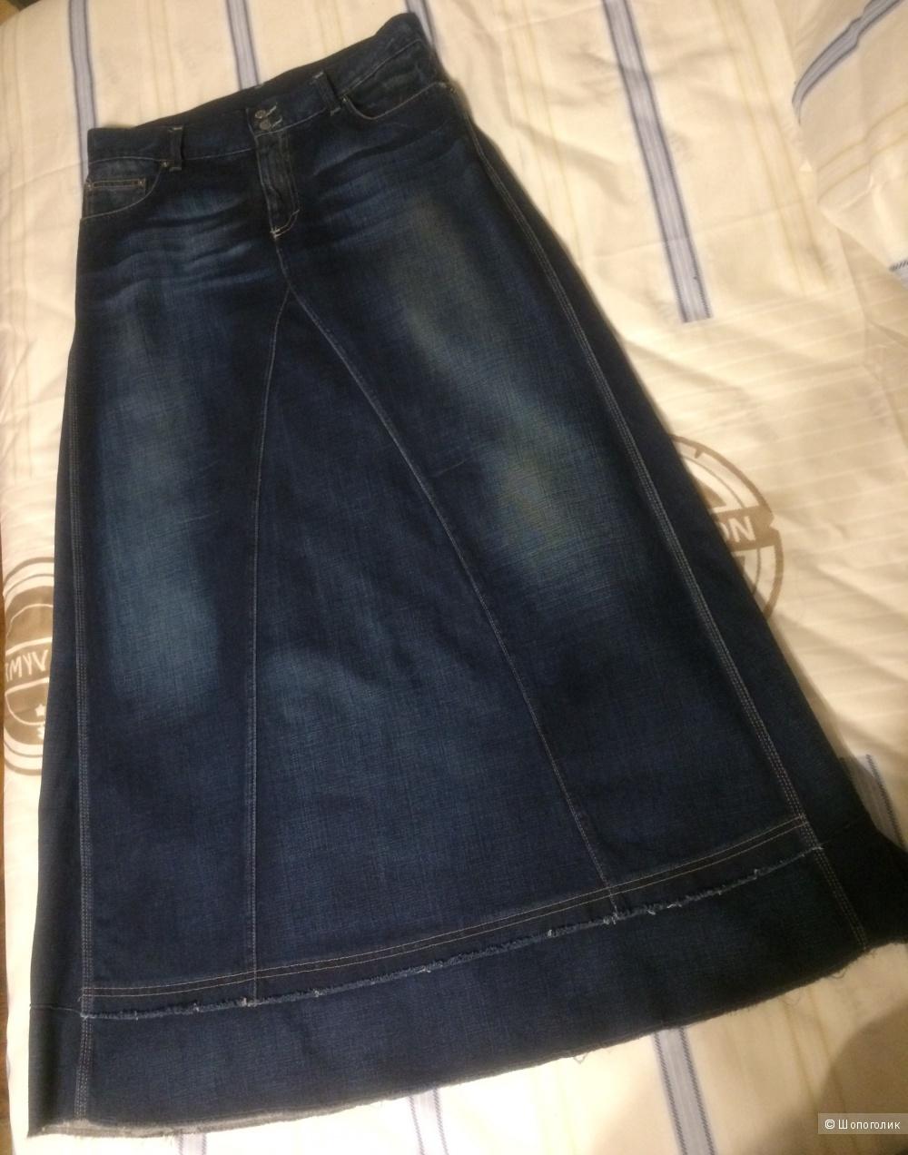 Юбка джинсовая BENETTON размер 48-50
