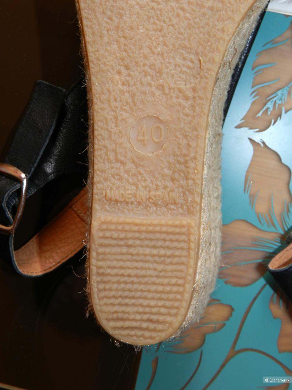Эспадрильи босоножки СHICA 38-38,5