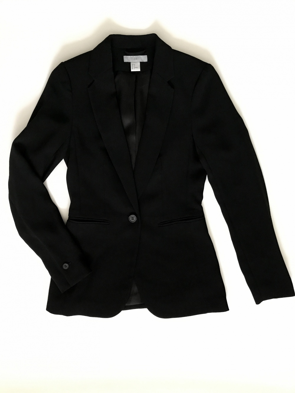 Жакет H&M черный, размер 32
