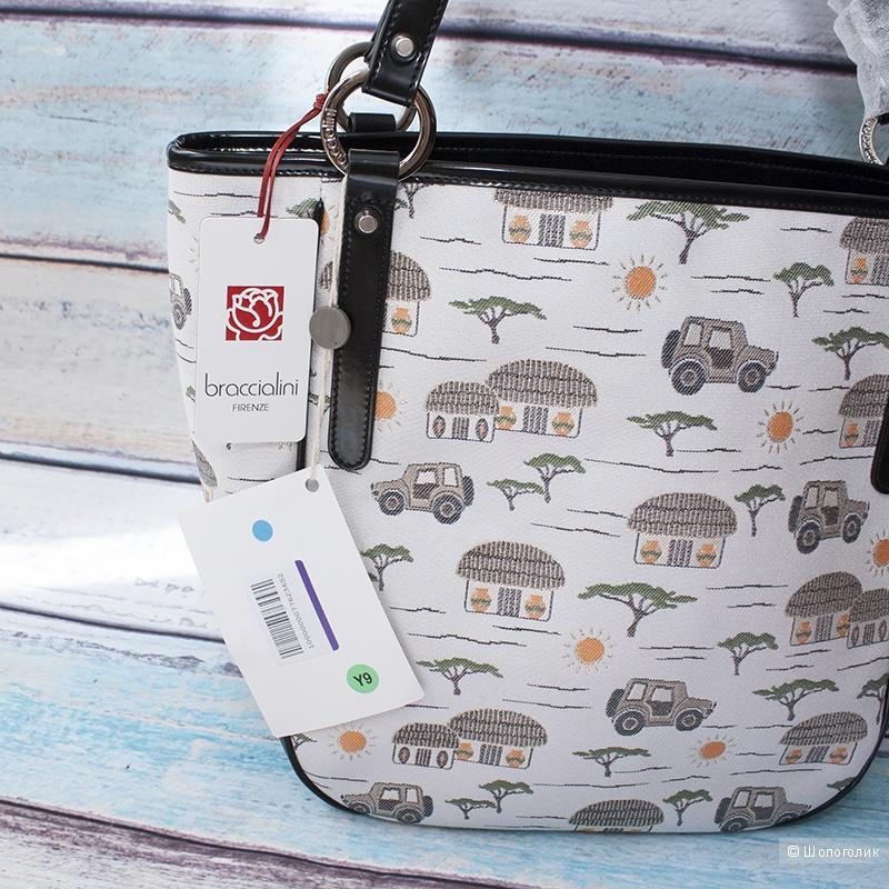 aa567b59068e Текстильная сумка Braccialini, в магазине YOOX — на Шопоголик