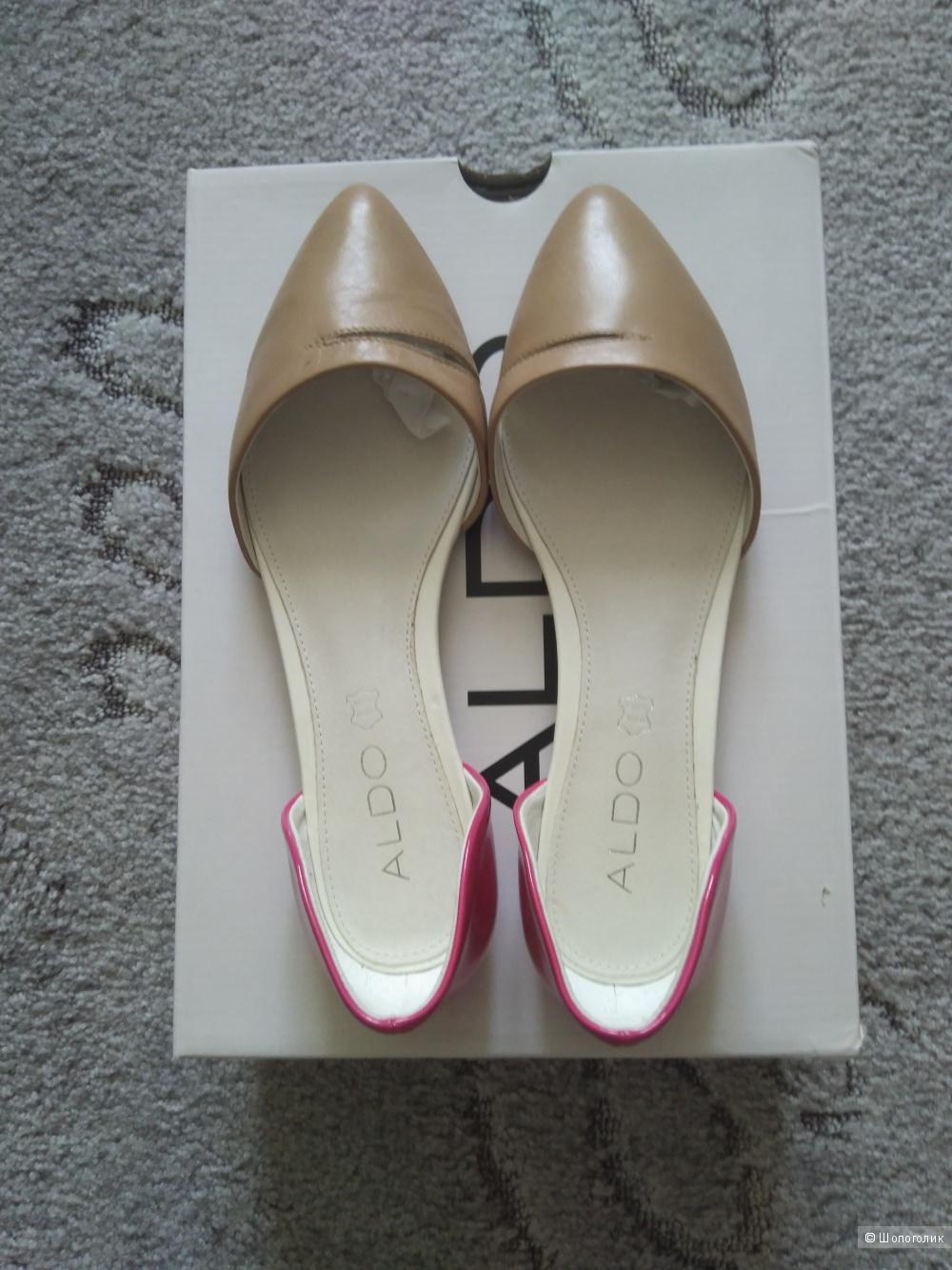Кожаные туфли Aldo 5 uk
