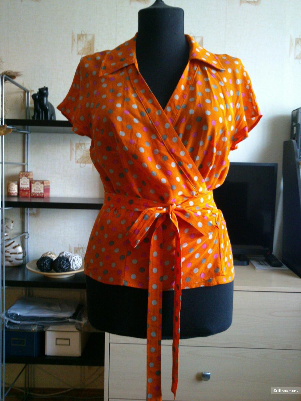 MARELLA, шелковая блузка. Размер: IT46  (на 44-46 размер).