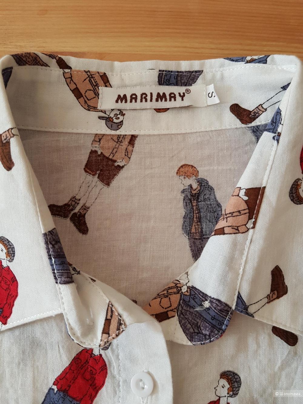 Блузка-рубашка MARIMAY, размер 42 (S)