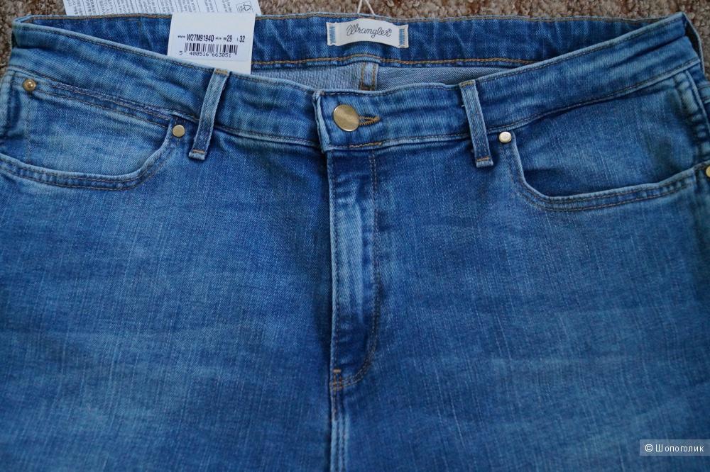 Джинсовые брюки WRANGLER, размер 29W-32L
