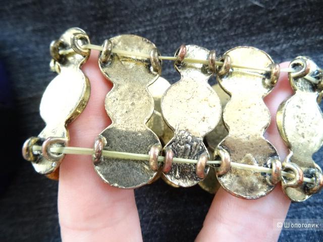 Сет:два кольца и браслет, one size