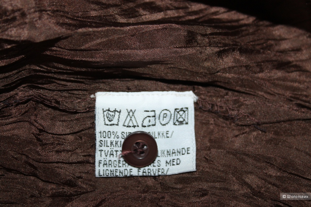 Шелковая туника Indiska, размер 46-48-50